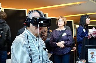 Oculus Rift做研究展示