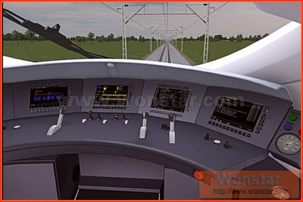 虚拟驾驶仿真系统